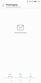 Huawei Y7 (2018) - E-Mail - 032c. Email wizard - Outlook - Schritt 3