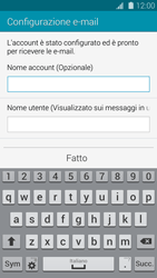 Samsung Galaxy S 5 - E-mail - configurazione manuale - Fase 18