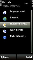 Nokia 5230 - MMS - Manuelle Konfiguration - Schritt 7