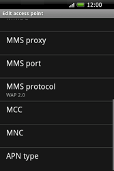HTC A6262 Hero - MMS - Manual configuration - Step 11