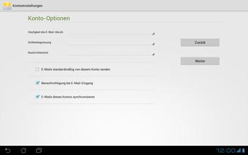 Asus Padfone - E-Mail - Konto einrichten - Schritt 17