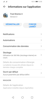 Huawei Y6P - Applications - Supprimer une application - Étape 6
