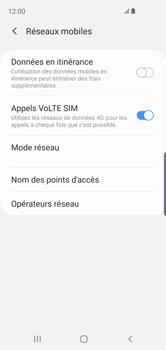 Samsung Galaxy S10e - Aller plus loin - Désactiver les données à l'étranger - Étape 7