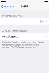 Apple iPhone 4 S - E-Mail - Konto einrichten - 18 / 29