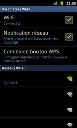 Samsung Galaxy S Advance - WiFi - Configuration du WiFi - Étape 9