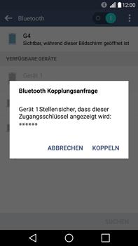 LG H815 G4 - Bluetooth - Geräte koppeln - Schritt 9