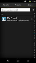 Sony LT30p Xperia T - E-mail - Sending emails - Step 6