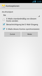 Alcatel One Touch Idol - E-Mail - Manuelle Konfiguration - Schritt 18
