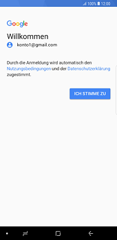Samsung Galaxy S8 Plus - Android Oreo - E-Mail - 032a. Email wizard - Gmail - Schritt 11