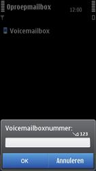 Nokia C7-00 - Voicemail - handmatig instellen - Stap 7