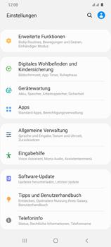 Samsung Galaxy S20 Ultra 5G - Gerät - Zurücksetzen auf die Werkseinstellungen - Schritt 4