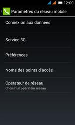 Alcatel One Touch Pop C3 - Internet et roaming de données - Comment vérifier que la connexion des données est activée - Étape 8