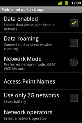 Alcatel OT-983 - Internet and data roaming - disabling data roaming - Step 7