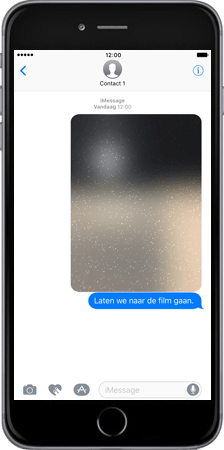 Apple Apple iPhone 7 Plus - iOS features - iMessage functies - Stap 7