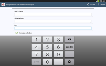 Samsung P5220 Galaxy Tab 3 10-1 LTE - E-Mail - Konto einrichten - Schritt 13