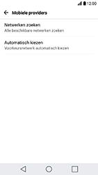 LG K10 (2017) (M250n) - Netwerk selecteren - Handmatig een netwerk selecteren - Stap 7