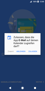 Sony Xperia XZ2 - E-Mail - Konto einrichten (outlook) - 11 / 19