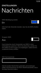 Nokia Lumia 1320 - SMS - Manuelle Konfiguration - 6 / 9