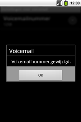 Alcatel OT-991 Smart - Voicemail - handmatig instellen - Stap 10