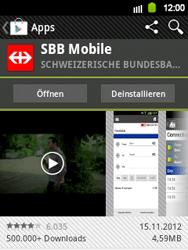 Samsung Galaxy Y - Apps - Installieren von Apps - Schritt 24