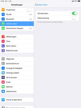 Apple iPad Air - iOS 12 - Ausland - Auslandskosten vermeiden - Schritt 8