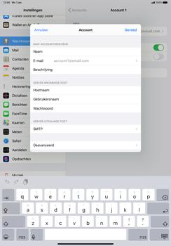 Apple iPad Pro 11 inch 2nd generation (2020) (Model A2230) - E-mail - Instellingen KPNMail controleren - Stap 11