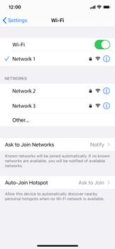 Apple iPhone X - iOS 14 - WiFi - WiFi configuration - Step 7