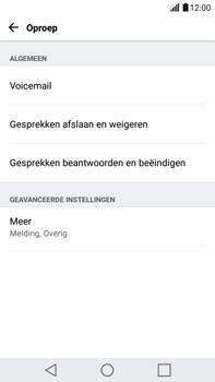 LG K520 Stylus 2 DAB+ - Voicemail - Handmatig instellen - Stap 5