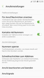 Samsung Galaxy A3 (2017) - Anrufe - Anrufe blockieren - Schritt 6