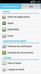 Huawei Ascend Y550 - Messagerie vocale - Configuration manuelle - Étape 3