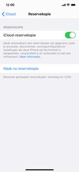 Apple iPhone 12 mini - toestel resetten - back-up maken met jouw account - stap 16