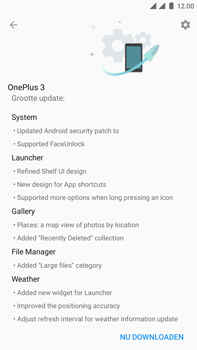 OnePlus 3 - Android Oreo - Toestel - Software update - Stap 7