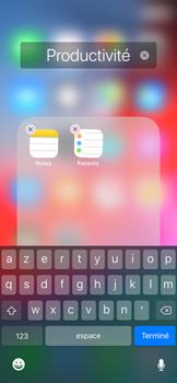 Apple iPhone X - iOS 12 - Prise en main - Personnalisation de votre écran d