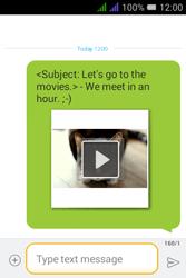 Alcatel Pixi 3 - 3.5 - MMS - Sending a picture message - Step 19