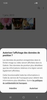 Samsung Galaxy S10 Plus - Photos, vidéos, musique - Envoyer une photo via Bluetooth - Étape 4