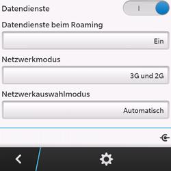 BlackBerry Q10 - Ausland - Im Ausland surfen – Datenroaming - Schritt 10