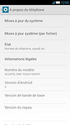 Alcatel One Touch Idol S - Logiciels - Installation de mises à jour - Étape 5