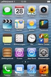 Apple iPhone 4 - Netzwerk - Manuelle Netzwerkwahl - Schritt 9