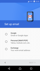 Sony Xperia X Compact - E-mail - 032a. Email wizard - Gmail - Step 8
