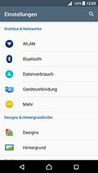 Sony Xperia X - Netzwerk - Netzwerkeinstellungen ändern - 0 / 0