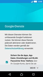 Sony E2303 Xperia M4 Aqua - Apps - Konto anlegen und einrichten - Schritt 15