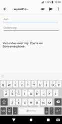Sony Xperia XZ2 Compact - e-mail - hoe te versturen - stap 5