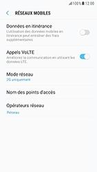 Samsung G920F Galaxy S6 - Android Nougat - Réseau - Changer mode réseau - Étape 8