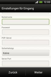 HTC A320e Desire C - E-Mail - Konto einrichten - Schritt 11