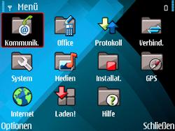 Nokia E71 - SMS - Manuelle Konfiguration - Schritt 3