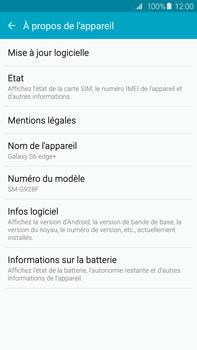 Samsung Galaxy S6 edge+ (G928F) - Logiciels - Installation de mises à jour - Étape 6