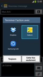 Samsung Galaxy S4 - Contact, Appels, SMS/MMS - Envoyer un MMS - Étape 16