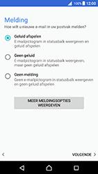 Sony Xperia X (F5121) - Android Nougat - E-mail - Account instellen (IMAP met SMTP-verificatie) - Stap 21