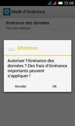 Alcatel One Touch Pop C3 - Internet et roaming de données - Désactivation du roaming de données - Étape 10