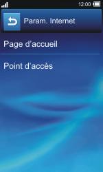 Sony TXT Pro - Internet - Configuration manuelle - Étape 6